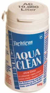Aqua-Clean-di-yacht-Icon-AC-10-000-100-grammo-di-polvere-per-10000-litri-di-acqua-potabile