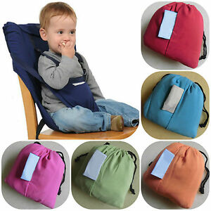 portable travel baby kids toddler feeding high chair seat cover