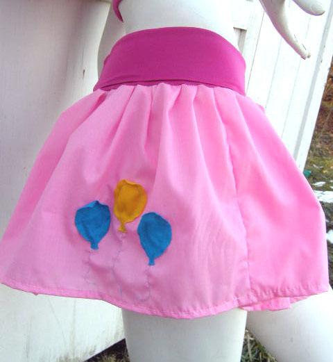 MY LITTLE PONY Skirt Pinkie Pie MLP FiM Cosplay Halloween Kawaii custom costume