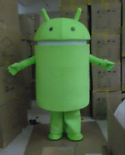 Special offer!New Android Robot adult mascot costume fancy dress free shipping
