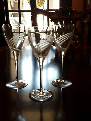 LENOX WINDSWEPT HIGHBALL GLASSES~SET OF 4~~EUC