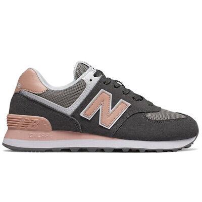 New Balance WL574 NDB Lifestyle Laufschuhe Damen Sneaker grau/rosa NEU |  eBay