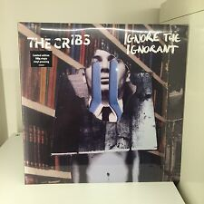 CRIBS Ignore The Ignorant LP SEALED Vinyl 2009 UK WICHITA WEBB220LP JOHNNY MARR