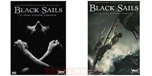 Black-Sails-Serie-Tv-Stagioni-1-e-2-Cofanetti-Singoli-Con-6-Dvd-Nuovi
