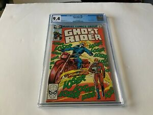 GHOST RIDER 46 CGC 9.4 WHITE PAGES LOSER LOSER LOSER COVER MARVEL COMICS