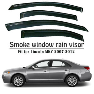 ABS-Vent-Window-Visors-Shades-Visors-Sun-Rain-Guards-for-Ford-Fusion-2006-2012
