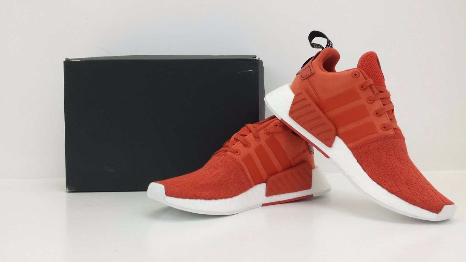 Adidas NMD_R2 Nomad BY9915 Future Harvest Orange Sizes 8 to 13 BRAND NEW IN BOX