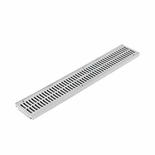 Details about  / 241-1 Spee-D Channel Drain Grate wide X 2 ft long Gray 4-1//8 in