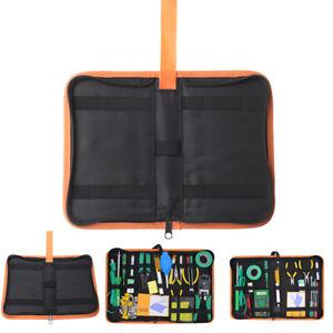 MECO Tool Bag DIY Storage Zipped Heavy Duty Hard Bottom Bag 13/'/'//16/'/'//18/'/'//20/'/'
