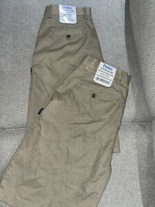 2-Parker-School-Uniforms-Boys-Men-s-Khaki-Flat-Front-Shorts-Size-31-Lot