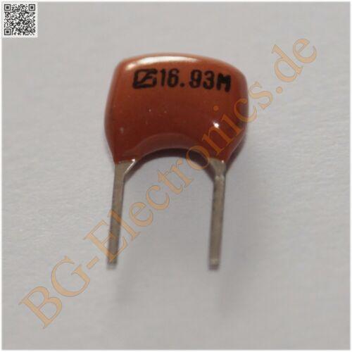 5 x cra16.93 MHz resonador ceramic resonador cra-series 5pcs