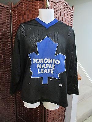 Toronto Maple Leafs Jersey BLACK Size XL NHL Hockey d52234e75