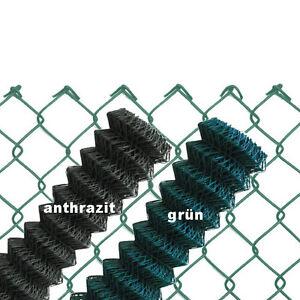 Maschendrahtzaun-GRUN-ANTHRAZIT-60x2-8-Viereckgeflecht-Maschinengeflecht-Zaun