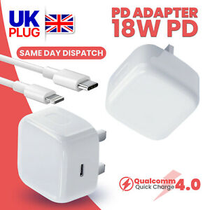 100% Genuine CE charger PD plug cable For iPhone 12 PRO MAX 11 XR X XS MAX 8 7