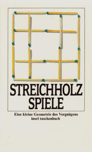 1 von 1 - in- VOGT : STREICHHOLZSPIELE   797 b   Erstausgabe