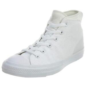Converse Chuck Taylor All-Star Syde Street Mid White White White ... 04d3400d4
