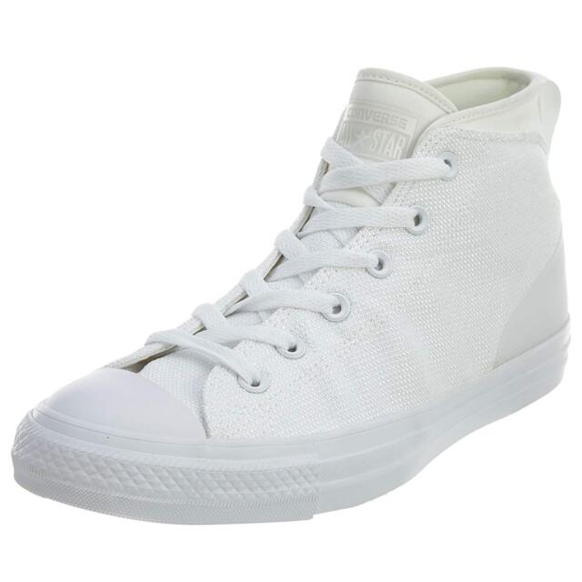 converse mid bianche