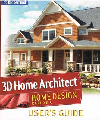 B000fd6kho 3d Home Architect Design Suite Deluxe 6 Users Guide Ebay