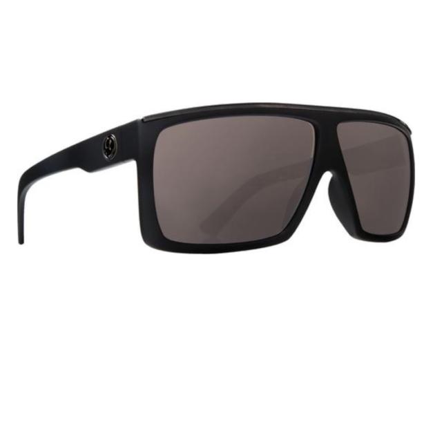 Dragon Alliance Fame Matte Black H2o Blue Ion Polarized Lens Sunglasses bde67a67b7