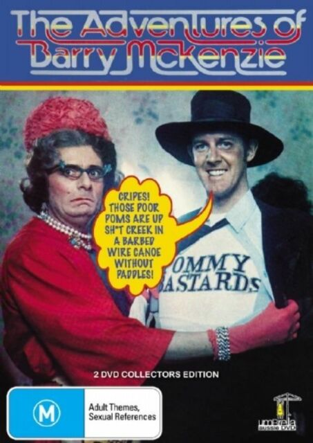 The Adventures Of Barry McKenzie - Barry Crocker, Barry Humphries - DVD