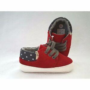 8254ce43f9443 IKKS chaussures souples rouge et grise bébé garçon pointure 17 18 ...