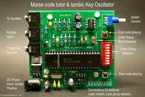 Morse-Code-CW-Ham-Radio-Trainer-amp-Oscillator-Learn-Morse-reception-and-sending