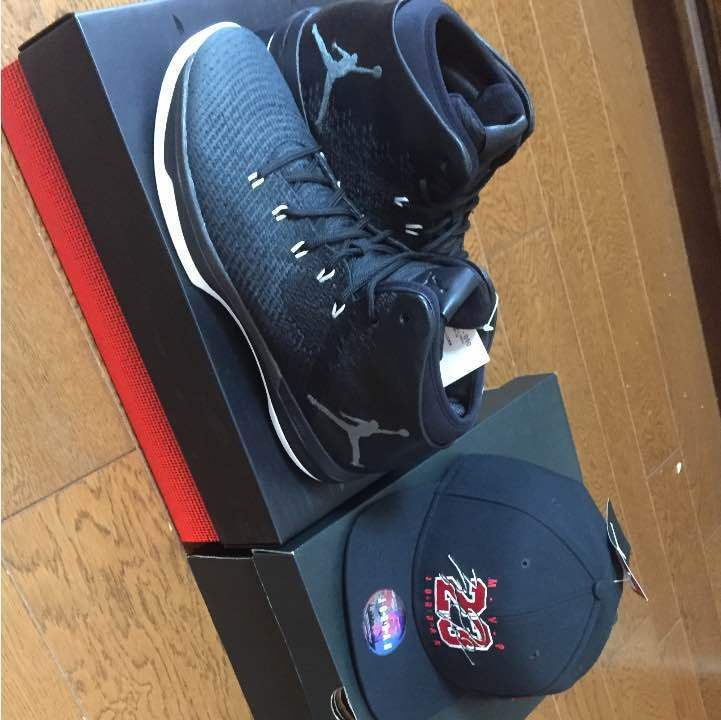 2-piece set sale of the Jordan 31 and Jordan cap from japan (3188