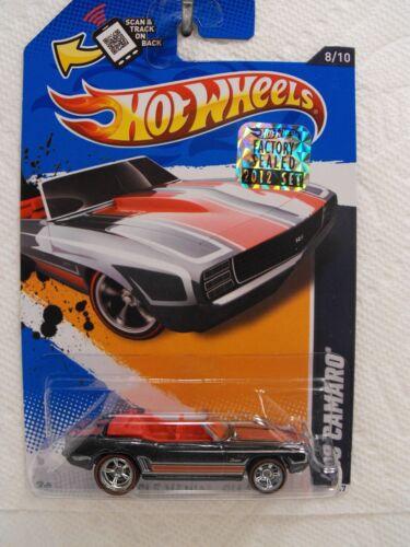 Hot Wheels 2012 Factory Set SUPER  TREASURE HUNT  /'69 CAMARO