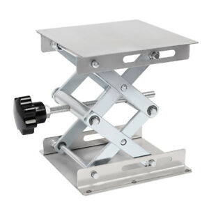 6-034-8-034-Stainless-Steel-Lifting-Platforms-Lab-Lift-Stand-Rack-Scissor-Lab-Jack