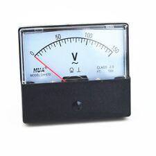 1pc Ac Analog Meter Panel Voltmeter Voltage Meter Dh 670 0 150v Gauge