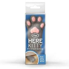 FRED-Qui Kitty Cat PAW SILICONE Doorstop