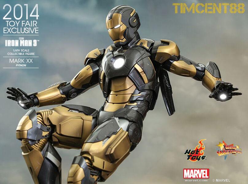 Juguete caliente mms248 exclusivo 2014 Iron Man 3 - 1   6 boa marca XX 20 abrir nuevo