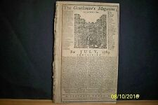 GENTLEMANS MAGAZINE - CITIZENS STORM THE BASTILLE - 1789