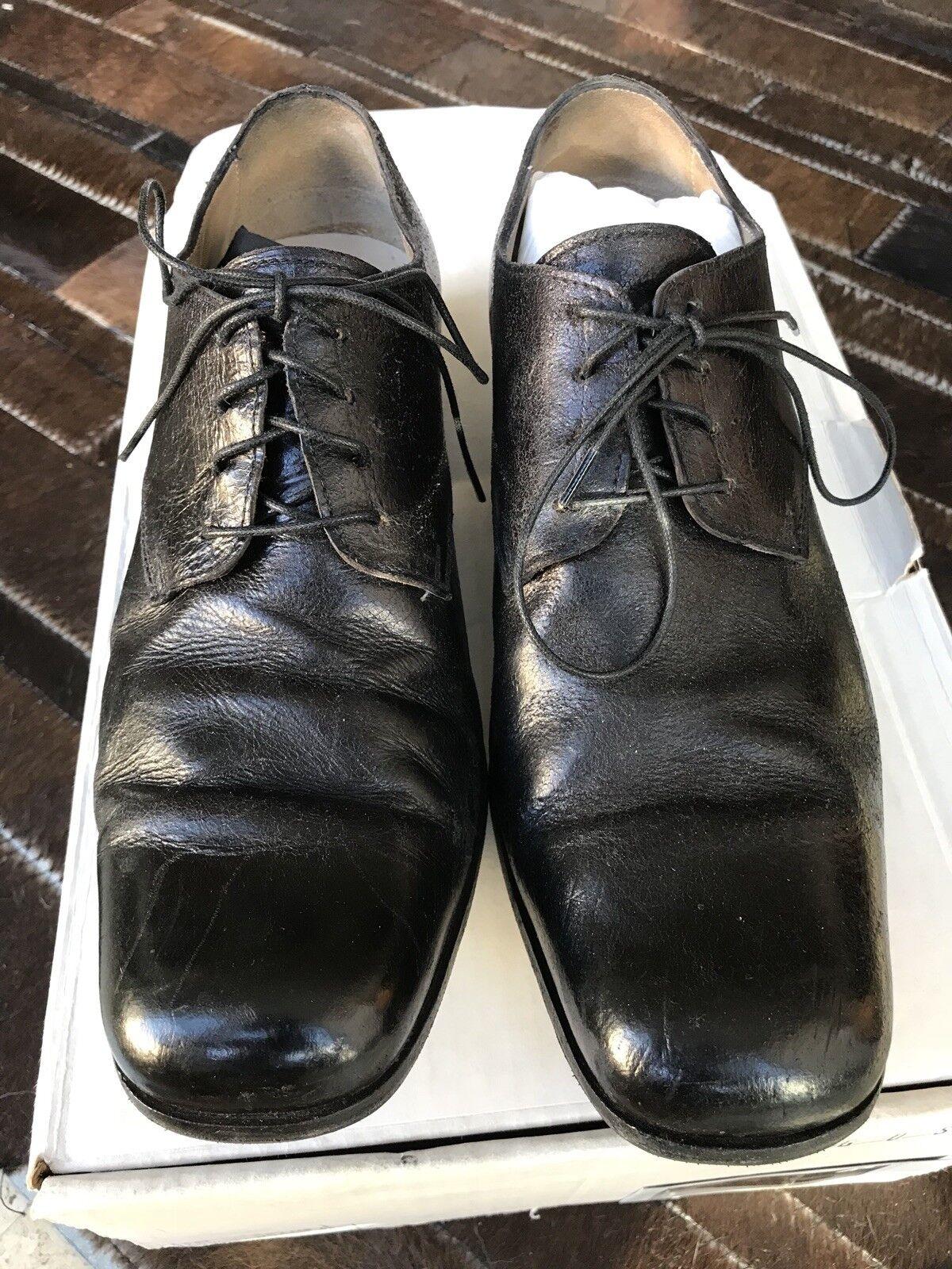 nuovo di marca Augusta Augusta Augusta (A1923) Handmade in  Uomo Derby scarpe, nero Fits Dimensione 39  risposta prima volta