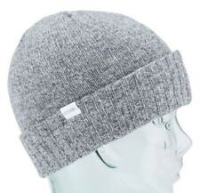 27180260e9f Coal Headwear THE ROWAN Unisex Lambswool Blend Cuffed Beanie Grey Marl NEW