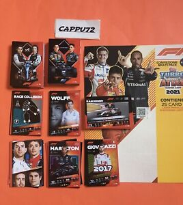 SET COMPLETO CARDS BASE (200 CARDS) TOPPS TURBO ATTAX CARDS 2021 FORMULA 1 2021