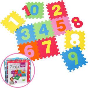 Knorrtoys-EVA-Schaumstoff-Puzzlematten-Zahlen-10-teilig-Bunt