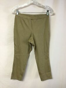NWOT-Women-039-s-No-Nonsense-Chino-Capri-Leggings-Size-Small-Classic-1044P