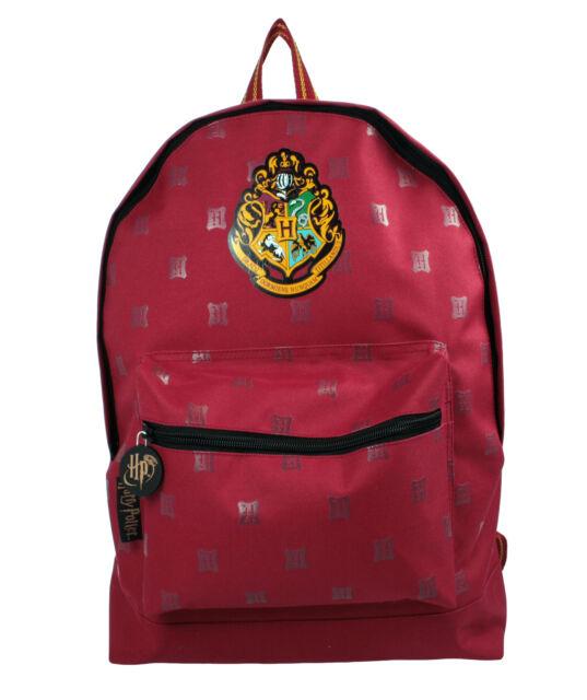Harry Potter Burgundy Hogwarts Roxy Childrens Backpack School Bag Rucksack Kids