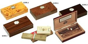 Humidor Umidificatore Scatola 10 Sigari Toscani Travel Cigar Case