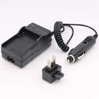 Battery Charger For Jvc Everio Gz-hm35bu Hm40bu Hm65bu Hd Flash Memory Camcorder