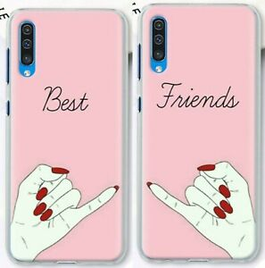 Best-Friends-Forever-BFF-Girls-hard-case-for-iPhone-11-Pro-XS-8-7-Samsung-S10-S9