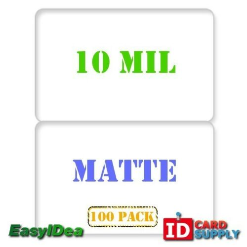 10010 mil Matte Edge to Edge Butterfly Laminating Pouch for ID Cards QTY