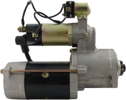 NEW Starter for Cat//Mitsubishi Forklifts FD-25B-D FD-25B-DS FD-25D SYSN0100