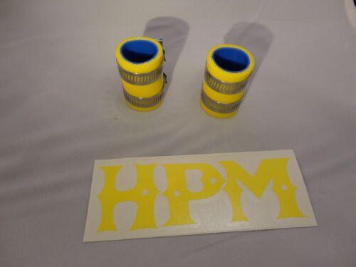 "HPM 5 Ply /"" YELLOW /"" BANSHEE Exhaust Couplers"