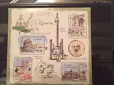 FRANCE 2002...Miniature Sheet n° 64 MNH...European Capitals Rome Folded