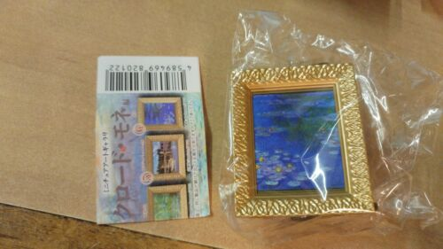 KITAN CLUB Da Vinci face Yell Claude Monet gashapon