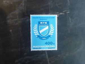 2013-HUNGARY-100th-ANNIV-MTK-SPORTS-CLUB-MINT-STAMP-MNH