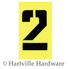 Hillman 839728 6-Inch Numbers Letters and Punctuation Combo Stencil Set