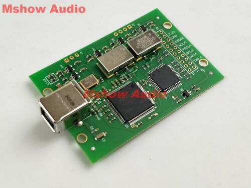 Amanero USB I2S module PCM combo384 module DSD512 Upgraded with Crystek CCHD-957